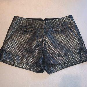 Silver shorts